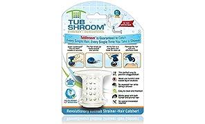 TubShroom Filtro, Bianco