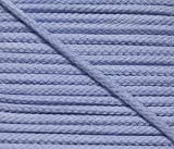 5 m Baumwollkordel 4 mm hellblau