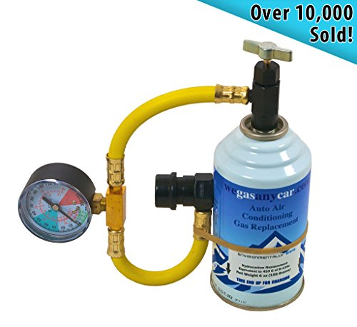 Car Aircon Air Con Conditioning Top up Topup Recharge Refill Regas DIY Gas Kit Test