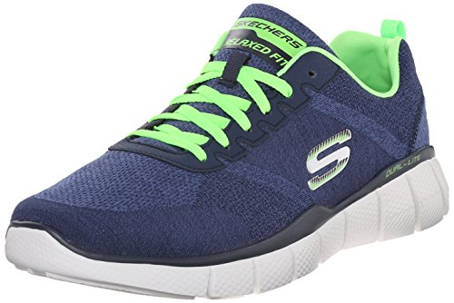 Skechers Equalizer 2.0 True Balance, Chaussures Multisport Outdoor Homme Bleu (Nvlm)