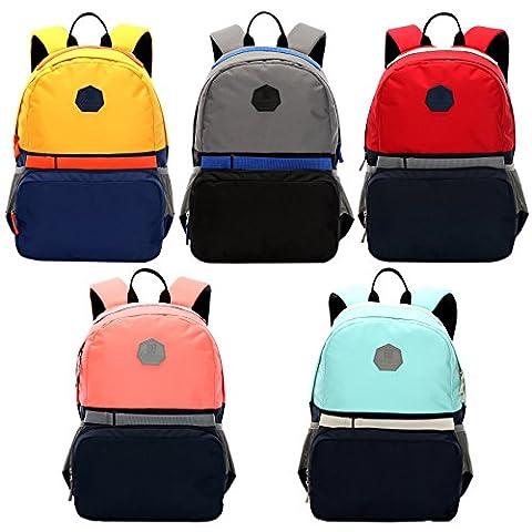 WOLTU® RS8305gr-a , Swisswin Rucksack Laptop 14-15 zoll Daypack Backpack Herren Damen Kinder Schule Freizeit 17 zoll Laptoprucksack Sportrucksack Kinderrucksack Schulrucksack Grau