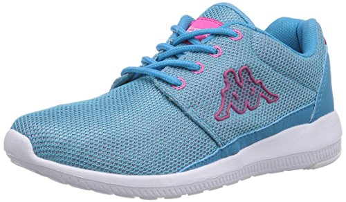 Kappa Speed Ii, Baskets Basses mixte adulte Bleu - Blau (6622 Tuerkis/Pink)