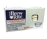 Brew Rite Coffee Filter, 1000 Count