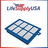 HEPA Filter for Electrolux Eureka H12 and Oxygen Canister EL-6985 39938-8 by LifeSupplyUSA