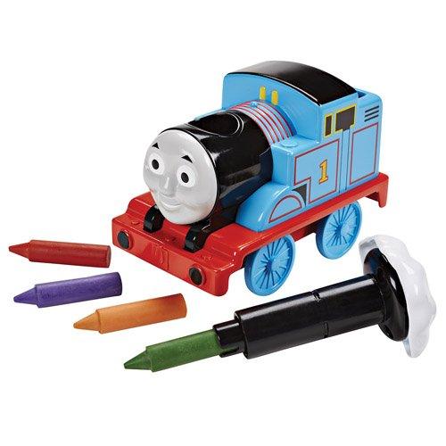 Mattel - 25DGL05 - Mon Premier Thomas et Ses Amis – Thomas Crayons pour Le Bain