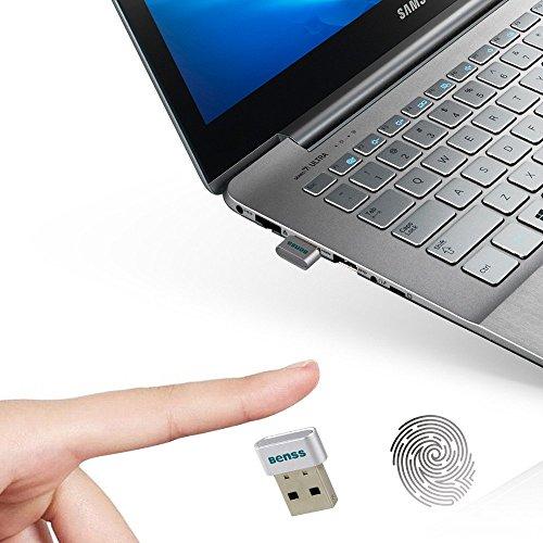 Lector-de-Huellas-Digitales-Mini-USB-Fingerprint-Reader-para-Windows-10-Hello-Benss-PC-Laptop-Ordenador-Porttil-Security-Lock-Multi-Touch-Password-Matching-Speedy-Sign-In-Security-Key-USB-Astilla