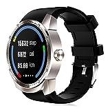 Lemumu K98H Uomo Donna 3G Smartwatch 4GB di ROM IP54 GPS impermeabile Orologio intelligente,argento