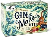 The Ultimate Gin Maker Kit de Sandy Leaf Farm para 10 botellas grandes de tu propia ginebra, con sabores que i
