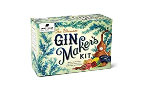 Sandy Leaf Farm Ultimate Gin Maker's Kit - Make ten big bottles of your own gin - Flavours including classic citrus, chocolate orange, pink, Christmas and more