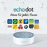 Amazon Echo Dot (2. Gen.) Intelligenter Lautsprecher mit Alexa, Weiß - 2