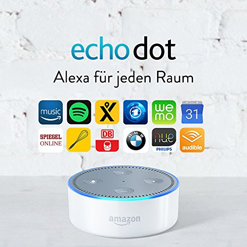 Amazon Echo Dot (2. Generation), Weiß -