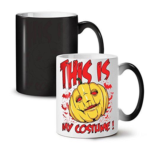 Halloween Kostüm Horror SchwarzSchwarz Farbe Ändern Tee KaffeKeramik Farbwechselbecher 11 | Wellcoda (Tragen Jude Halloween Kostüm)