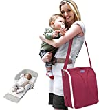 baby stroller Mummy Rucksack Schultern Multifunktions Faltbare Krippe Komfortable Stoff Haut TUT Nicht WEH Das Babybett 83 * 83 * 43.5,1