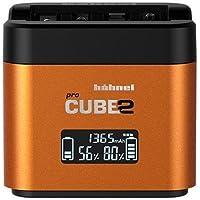 Hähnel Kamera-Ladegerät Pro Cube 2, Sony 10005720 Passender batterie rechargeable LiIon, NiMH