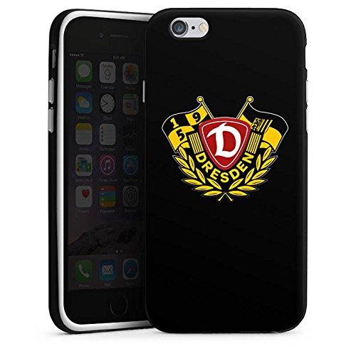 Apple iPhone X Silikon Hülle Case Schutzhülle Dynamo Dresden Bundesliga Fußball Silikon Case schwarz / weiß