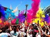 HOLI Couleur Poudre Festivals fêtes, réceptions, Vert Couleur Poudre 500Gram Sac
