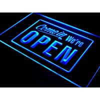 ADV PRO i001-b We're OPEN Shop cafe Bar Display Neon Light Sign