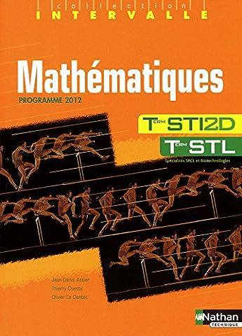 Mathématiques - Terminales STI2D / STL