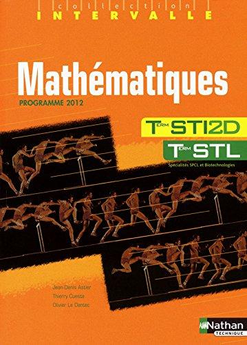 Mathmatiques - Terminales STI2D / STL