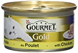 Purina Gourmet Gold Pate with Chicken Adult Wet Cat Food, 85g