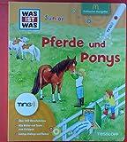 Was ist Was Junior. Pferde und Ponys. Exklusive Ausgabe McDonalds. Mit Ting-Technologie.