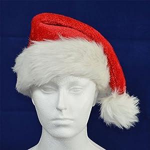 Gifts 4 All Occasions Limited SHATCHI-869 - Gorro de Papá Noel para Navidad, diseño navideño, multicolor