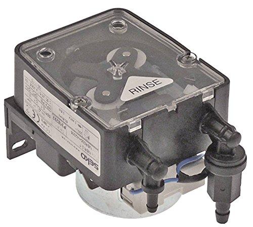 SEKO NMB 0.7 NMB000HA2002 Dosiergerät für Spülmaschine GGM GS320PM für Klarspüler 0,7l/h Schlauchanschluss 4x6/6mm 3,5W