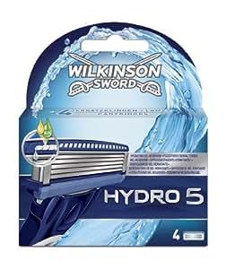 Wilkinson Sword Hydro 5 Razor Blades - Pack of 4