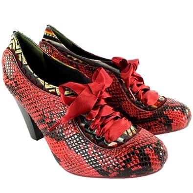 Womens Poetic Licence Back Lash Mary Jane Ankle Boots Ribbon Lace UK Sizes 3-8