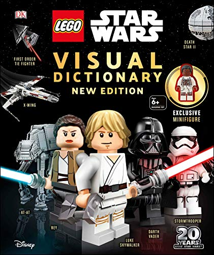 Lego Star Wars Visual Dictionary New Edition: With Exclusive Finn Minifigure...