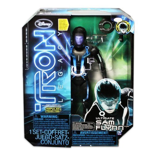 TRON Legacy Sam Flynn Ultimate 12-Inch Action Figure by Spin Master