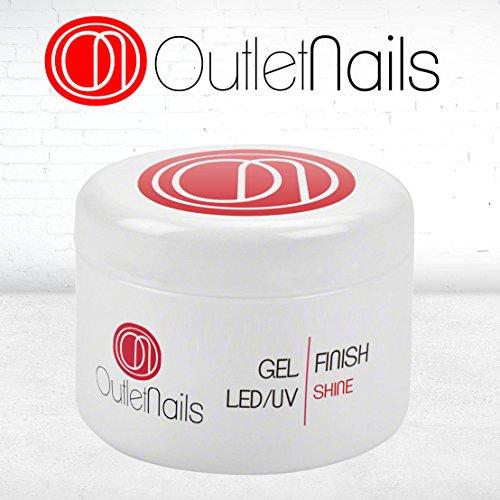 Gel Brillo uñas gel UV/LED 50ml / Finalizador Brillo
