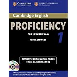 Cambridge English Proficiency 1 for Updated Exam Self-study Pack (Student's Book with Answers and Audio CDs (2)) (CPE Practice Tests)