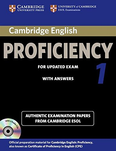 Cambridge English Proficiency 1 for Updated Exam Self-study Pack (Student's Book with Answers and...