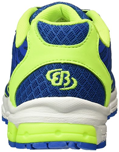 Bruetting Unisex-Erwachsene Boa Laufschuhe Blau (BLAU/MARINE/LEMON)