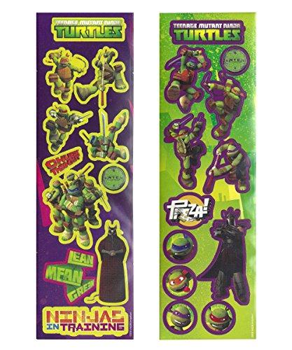 1 Lot de Stickers Tortues Ninja - Taille Unique