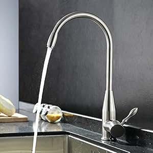 czoor plomb 304 acier inoxydable dimensions cuisine robinet eau chaude et froide lave. Black Bedroom Furniture Sets. Home Design Ideas