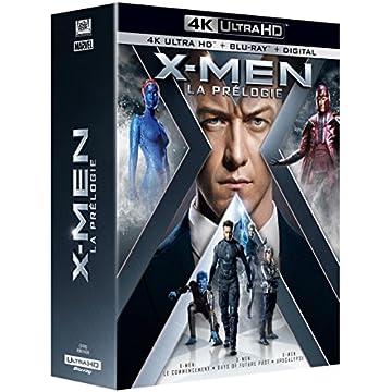 Coffret Prélogie X-men : Le Commencement ; Days Of Future Past ; Apocalypse 4k Ultra Hd [blu-ray]