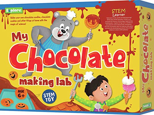 Explore.. | STEM Learner | My Chocolate Making Lab (Learning & Educational DIY Activity Toy Kit, for Ages 6+ of Boys and Girls)