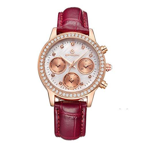 lässige wasserdichte Armbanduhr/Quarz-Uhr/Business casual Uhren-A