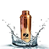 #2: Zafos New and Improved Pure Copper Joint Yoga Water Bottle -800 ml for Ayurvedic Health Benefits, Sports,Office and Healthy Life