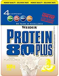 Weider 80 Plus Protein, Neutral (1 x 500 g)