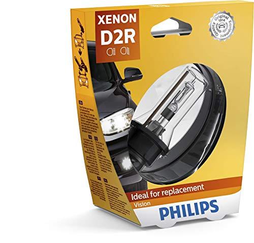 Philips 85126VIS1 Xenon Vision - Bombilla para faros delanteros (D2R, xenón, 1 unidad)