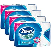 4 Roll Zewa Wisch & Weg Value Sheets 2 Ply (Health & Personal Care)