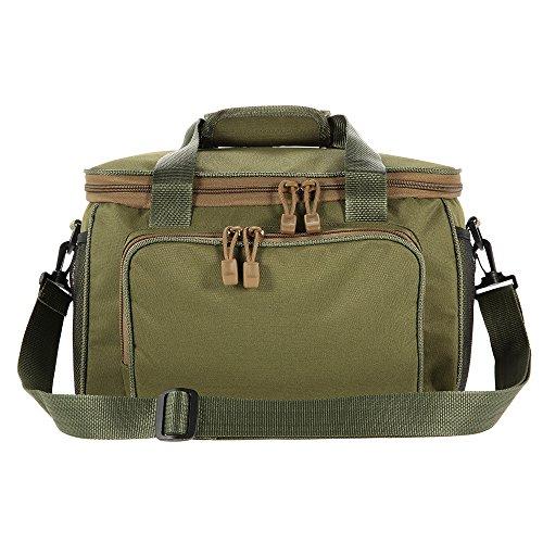 Lixada portatile multifunzionale borsa di tela borsa tracolla per pesca attrezzatura da pesca mulinello custodia borsa