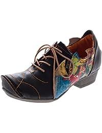 TMA , Chaussures à lacets et coupe classique femme