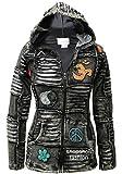 Shopoholic Mode Femme 100% Coton Doux Emo Punky Gothique Veste ...