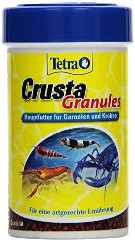 Tetra Crusta Granules (Hauptfutter in Granulatform für Garnelen und Krebse, für eine artgerechte Ernährung), 100 ml Dose