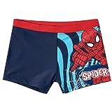 Boxer de bain enfant garçon Spider-man Marine/rouge de 4 à 10ans - Marine/rouge, 8 ans