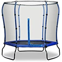 Safe Jump Rebo 7FT Trampoline With HALO Safety Enclosure - 2 Colours